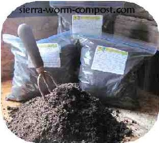 bag of worm compost